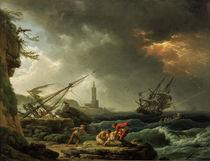 C.–J.Vernet, Sturm auf See von AKG  Images