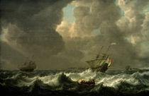 S. de Vlieger, ....stürmische See von AKG  Images