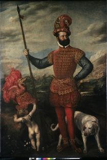 Titian / Portrait of Italian Gentleman by AKG  Images