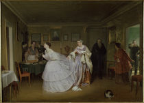 Fedotov / Courtship of the Major / 1848 by AKG  Images