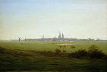 Friedrich / Meadows near Greifswald/c. 1815 by AKG  Images