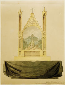 Friedrich / Cross i. front o. rainbow/c. 1818 by AKG  Images