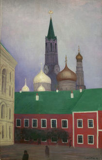 F. Vallotton / View of the Kremlin by AKG  Images