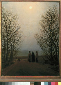C.D.Friedrich, Easter morning /  c. 1835 by AKG  Images