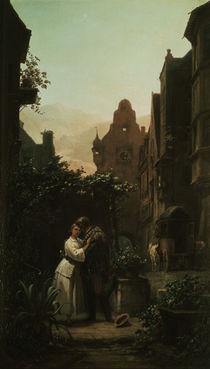 Carl Spitzweg, Der Abschied /  um 1855 von AKG  Images