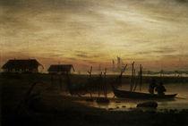 C.D.Friedrich / Küstenlandsch. Abend 1815 von AKG  Images