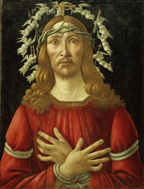 S.Botticelli, Christ as Man of Sorrows /  c. 1500 by AKG  Images