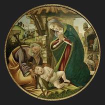 S.Botticelli, Anbetung des Kindes von AKG  Images