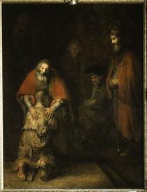 Rembrandt, Heimkehr verlorener Sohn von AKG  Images