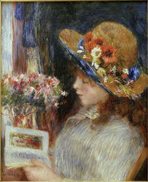 Renoir / Girl reading / 1880 by AKG  Images