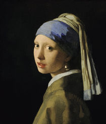 Vermeer / Girl with pearl earring/c. 1665 by AKG  Images