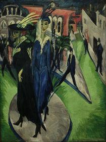 Kirchner / Pariser Platz / 1914 by AKG  Images