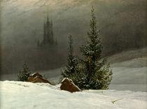 C.D.Friedrich / Winter Landscape / 1811 by AKG  Images