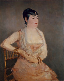 Manet / Lady in Pink by AKG  Images