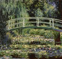 C.Monet, Der Seerosenteich (Moskau) von AKG  Images