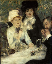 Renoir / After dinner / 1879 by AKG  Images