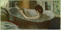 Degas / Woman washing her Leg by AKG  Images