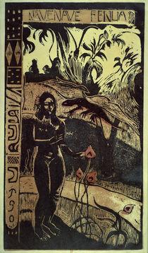Gauguin, Nave Nave Fenua/ 1892 von AKG  Images