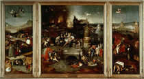 Bosch / Temptation of St. Antony by AKG  Images