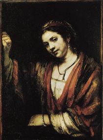 Rembrandt / Hendrickje Stoffels/ 1656–57 by AKG  Images