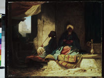 Carl Spitzweg, In the Turkish bazaar by AKG  Images