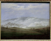 C.D.Friedrich, Fog in the Elbe Valley by AKG  Images
