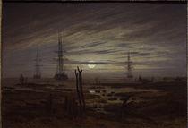 C.D.Friedrich, Schiffe auf der Reede von AKG  Images
