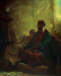 In the Harem / C. Spitzweg / Painting c.1855 by AKG  Images