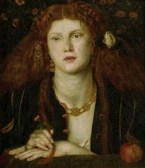 D.G.Rossetti / Bocca Bacciata / 1859 by AKG  Images