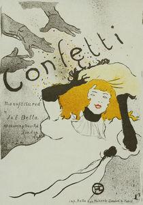H.Toulouse-Lautrec, Confetti von AKG  Images