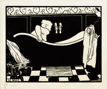 The Bath / F. Vallotton / Woodcut 1894 by AKG  Images