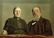 Portrait of the Artist's Parents / F. Vallotton / Painting 1902 by AKG  Images