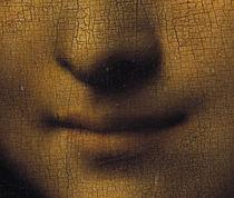 Leonardo da Vinci, Mona Lisa (Detail) by AKG  Images