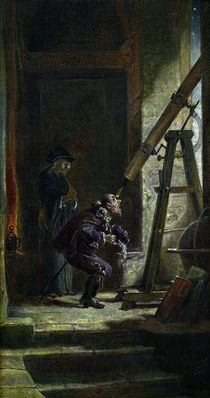 Spitzweg / The Astrologist / Painting by AKG  Images
