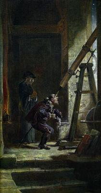 C.Spitzweg, Der Astrologe von AKG  Images