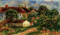 A.Renoir, Maisons de village von AKG  Images