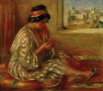 Renoir / Gabrielle as Algerian Woman by AKG  Images