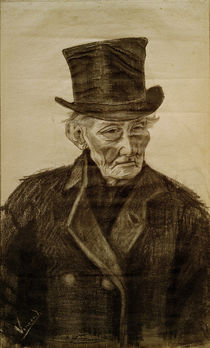 V. van Gogh, Old Man w. Top Hat / Draw. by AKG  Images
