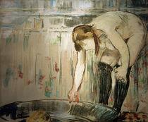 É.Manet, Die Frau mit der Wanne von AKG  Images