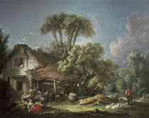 F.Boucher, Morning / Painting / 1764 by AKG  Images
