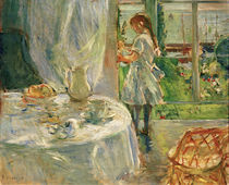 B.Morisot, Interior of holiday home 1886 by AKG  Images