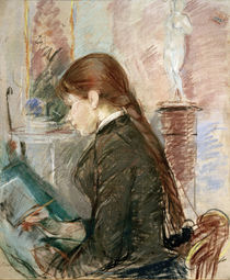 B.Morisot, Paule Gobillard, drawing by AKG  Images