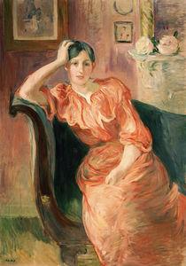 B.Morisot, Porträt Jeanne Pontillon von AKG  Images