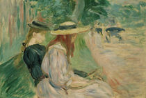 B.Morisot, On a bench in Bois d. Boulogne by AKG  Images