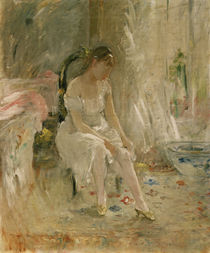 B.Morisot, Woman getting dressed / 1880 by AKG  Images