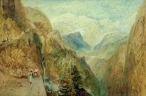 Montblanc von Fort Roch / W.Turner von AKG  Images