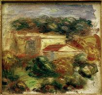 P.–A.Renoir, Landschaft am Mittelmeer von AKG  Images