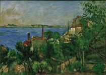 P.Cézanne, Das Meer bei L'Estaque von AKG  Images