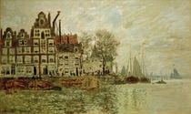 C.Monet, View of Amsterdam by AKG  Images