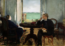 Edouard Manet / Interior in Arcachon by AKG  Images